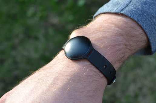Misfit Shine with the Black Sport Band