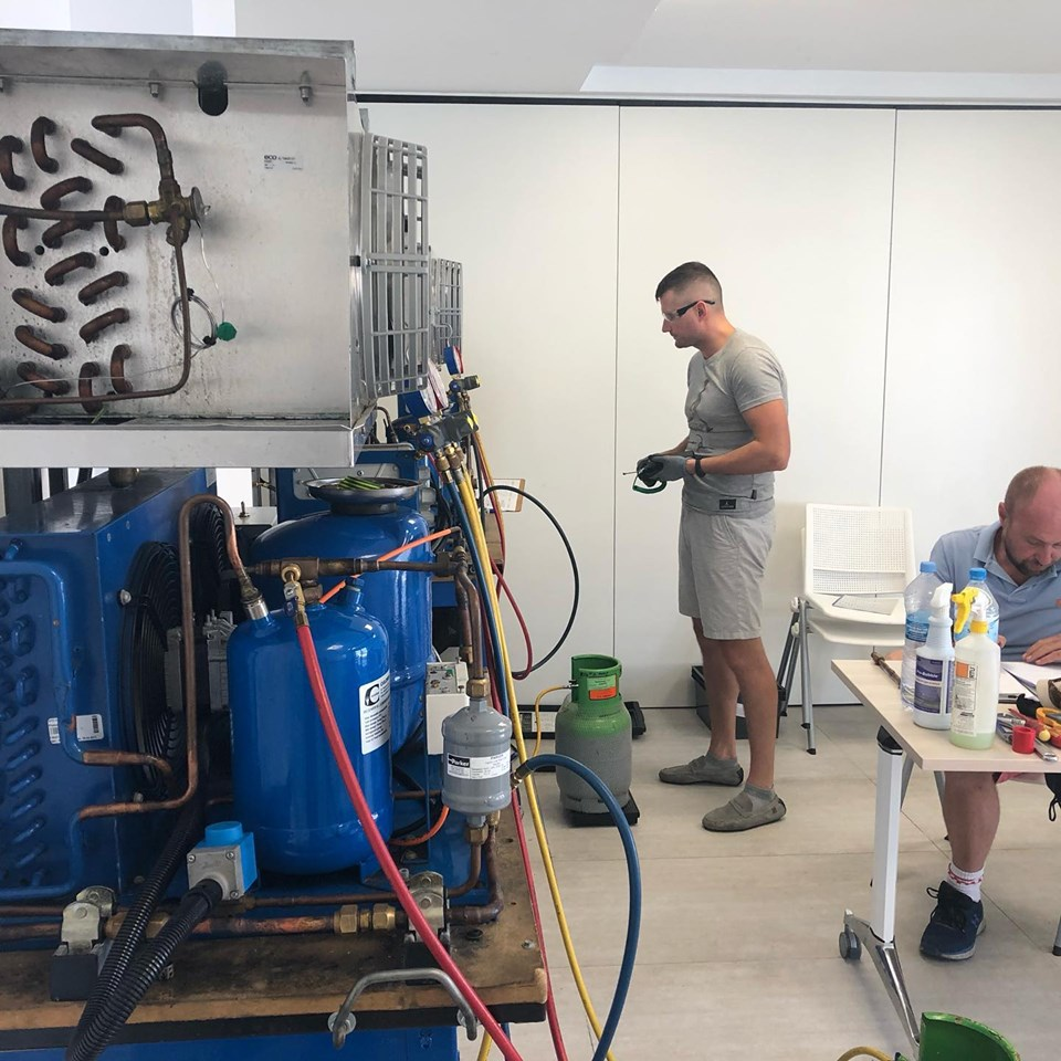 18th to 22nd April 2022 – Marine Refrigeration Course (Mallorca)