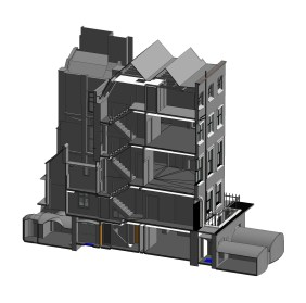 Example of a measured building survey from Technics