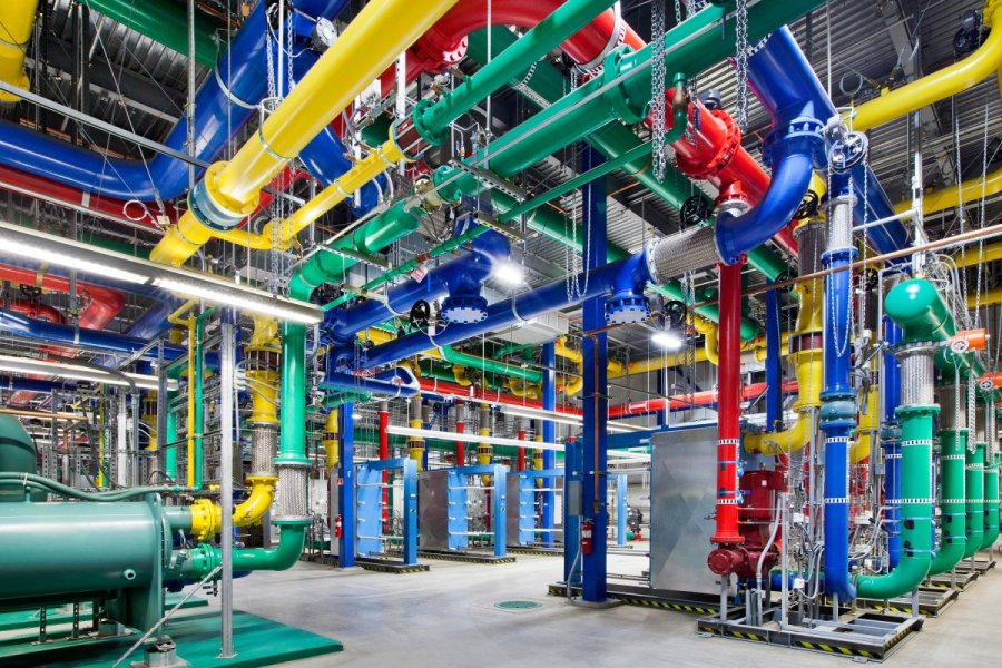Cooling System of Google Data center