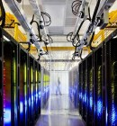 Google Data center Network Room