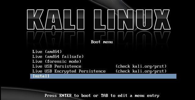 Kali Linux Live Usb For Mac