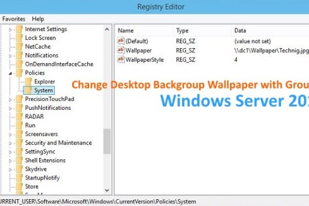 How To Change Desktop Background With Group Policy Technig