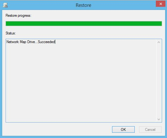 Restore Group Policy Object