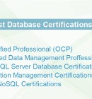 Top Best Database Certification - Technig.com
