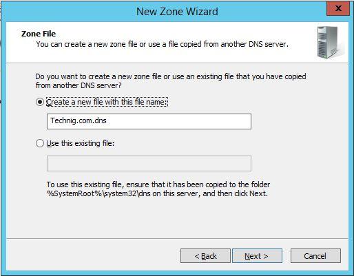 DNS Zone FIles