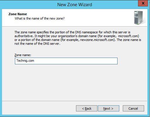 DNS Zone Name