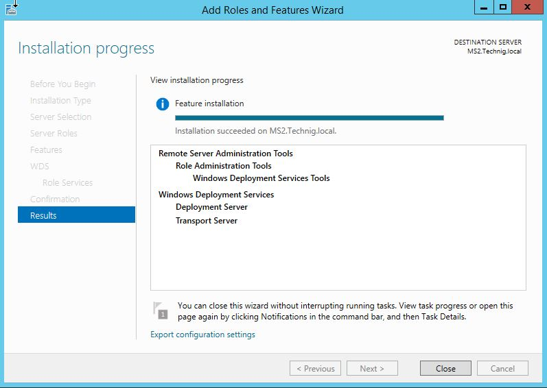 How to Install and Configure WDS In Windows Server 2012 R2