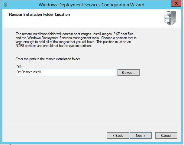PXE booting a Windows image with Hyper-V