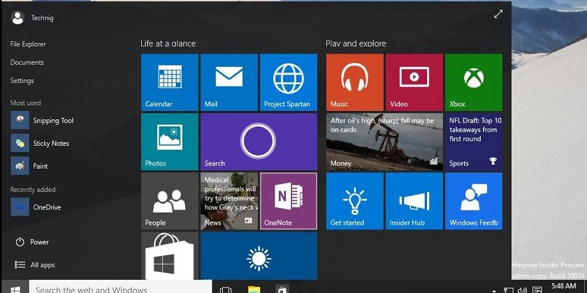 SCARICA WINDOWS 10 INSIDER PREVIEW