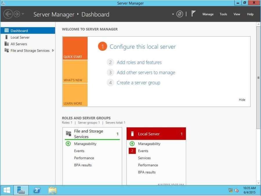 Convert Server Gui to Server Core