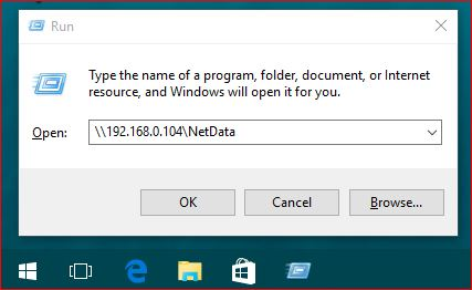 how to access shared network drive