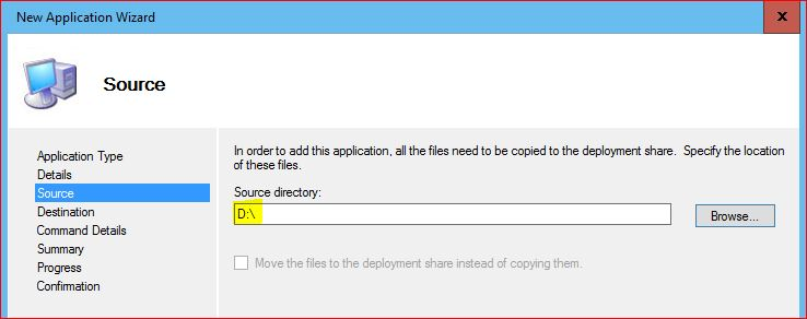 Application directory