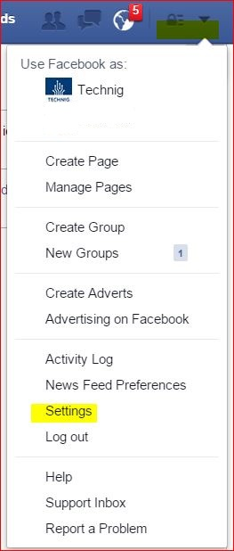 Facebook Profile Settings