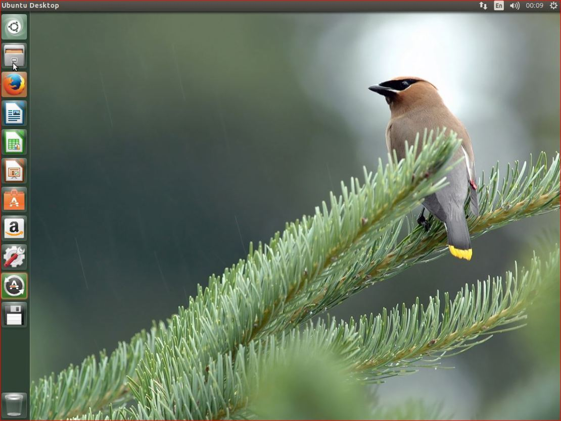 Linux Ubuntu Desktop 15 4