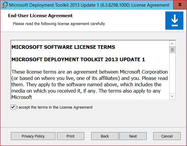 MDT End User License Agreement