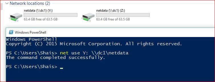 how to create map network drive in windows 10 and server technig