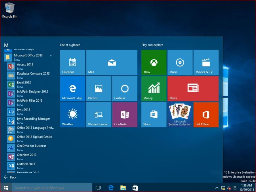 The Final result of Deploy Windows 10 using MDT