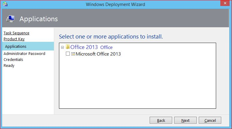 Upgrade Office with MDT