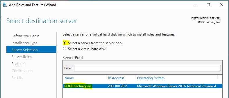 Deploy Read-Only Domain Controller
