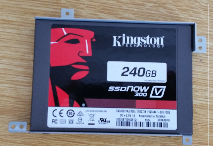 KingSton SSD for Laptop