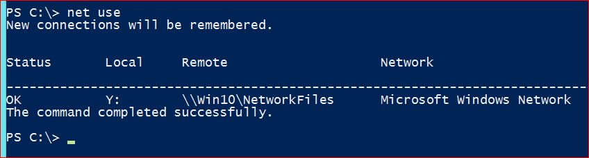 Network Map Drives