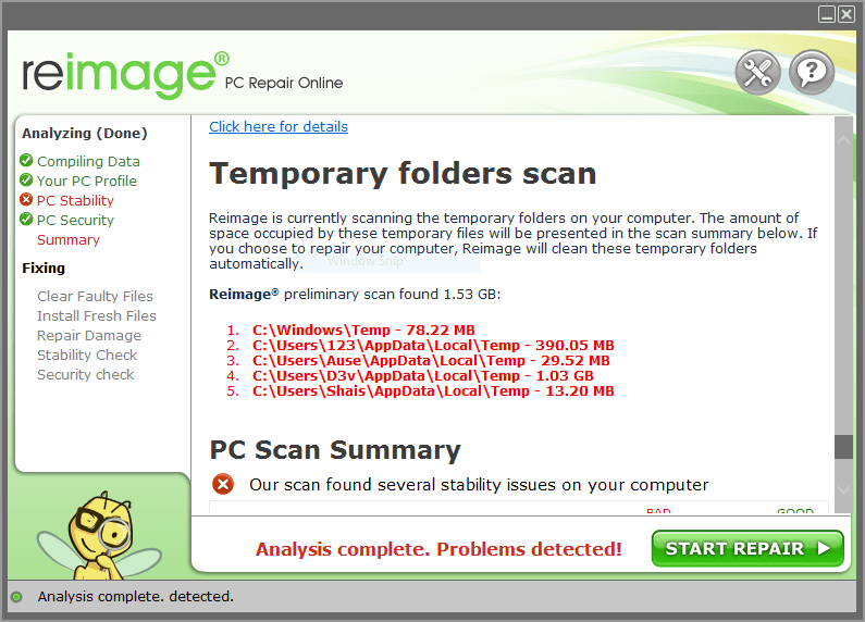 PC Scan & Repair by Reimage