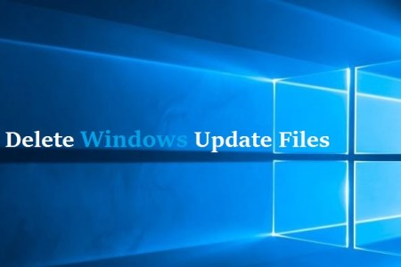 how to remove windows update files