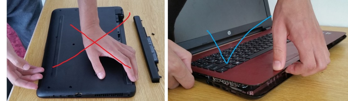 Upgrade a Laptop Hard Disk to SSD
