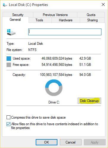 Delete windows update files windows 10
