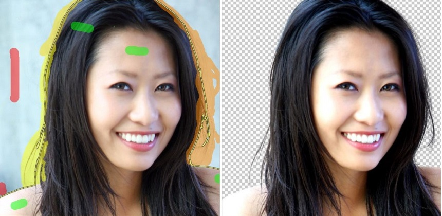 How to make background transparent in fotoflexer