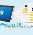 Delete User Profiles in Windows - Technig