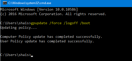 Update Group Policy to Enable Network Discovery via Group Policy