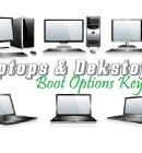 Laptops and Desktops System BIOS Boot Keys - Technig