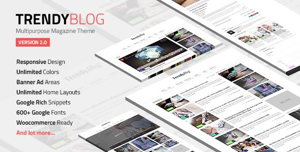 Top 10 Best WordPress Blogging Themes - Technig