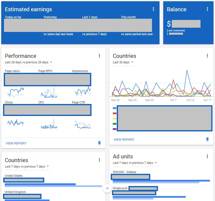 Google Adsense New Features Home Page Features