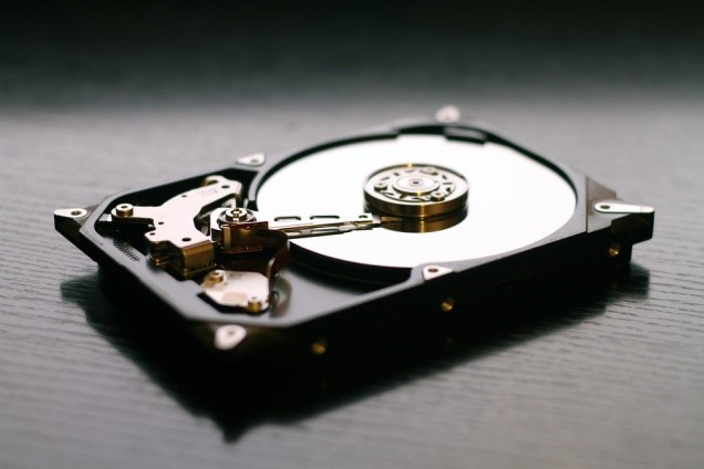 Physically Accessing the External Hard Disk