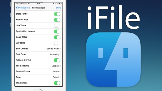 iFile - Tweak for Jailbreak iPhone
