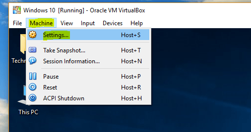 Enable File Sharing Between VirtualBox and Host