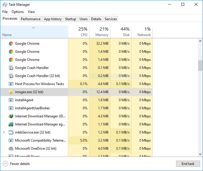 Find Virus in Windows