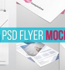 Best Free PSD Flyer Mockups - Technig