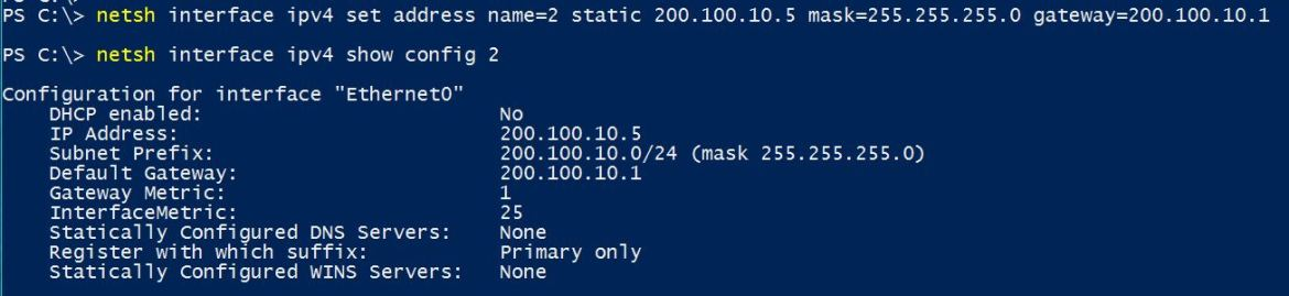 Change IP Address in Windows 10 using Command Line - Technig
