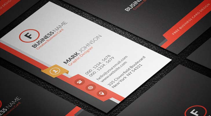 Top 20 free business card templates with psd files technig free vertically business cards with free psd files technig reheart Image collections