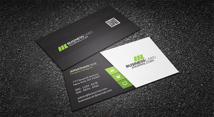 Top 20 free business card templates with psd files technig corporate business card free business card templates technig fbccfo