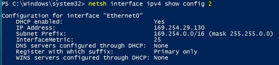 how to find ip address using cmd windows 10