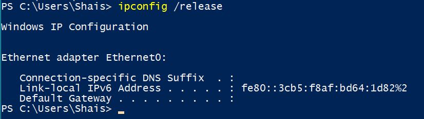 Refresh Windows 10 IP address with Command Line - Technig