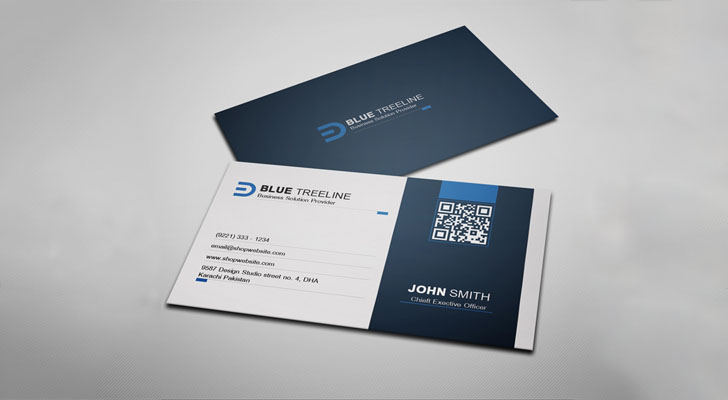 Top 20 free business card templates with psd files technig simple business card template technig wajeb Image collections