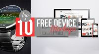 Top 10 Free Device Mockups - Technig