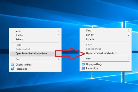 How to Replace PowerShell with Cmd in Windows 10 - Technig