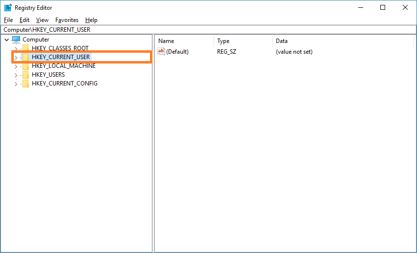 How to Clear Run Command History in Windows 10 - HKEY_CURRENT_USER